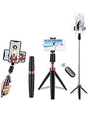 KSDCDF Selfie Stick, Extendable Selfie Stick Tripod,Phone Tripod