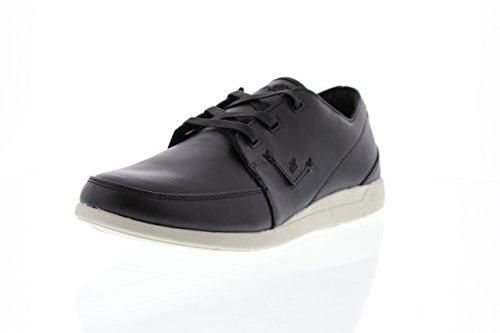 WS Zapatos de Cordones de Material Sintético Mujer, Negro (Negro), 40