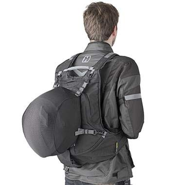 Givi EA104B Expandable Backpack With Helmet Holder - Easy Range