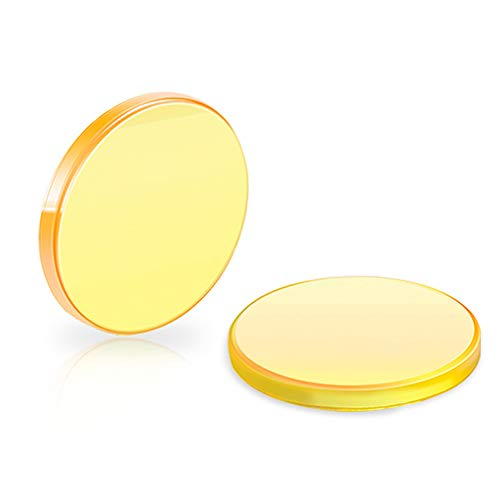 (Focus Lens, KKmoon Practical Fine Quality CO2 Crescent Optical System Engraving Cutting Machine Zinc Selenide Focus Lens)