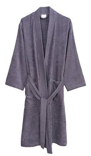 (TowelSelections Men's Robe, Turkish Cotton Terry Kimono Bathrobe Small/Medium Daybreak)