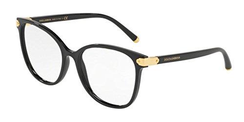 Dolce&Gabbana DG5035 Eyeglass Frames 501-55 - Black ()