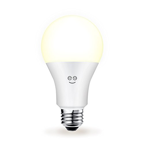 Geeni Lux 1050 A21 Smart Wi-Fi LED Tunable White Light Bulb - 75W Equivalent, No Hub Required, Works with Alexa,...