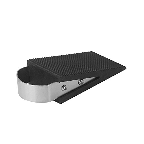 Door Stopper, Stainless Steel Heavy Duty Door Stop Works on All Floor Surfaces by YING YING FS