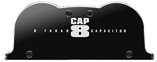 BOSS Audio CAP8 - 8 Farad Car Capacitor For Energy Storage To Enhance Bass Demand From Audio System