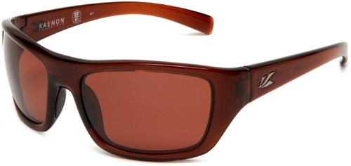 Kaenon Men's Kanvas Polarized Rectangular Sunglasses, Tobacco C28, 40 - Sunglasses Prescription Kaenon