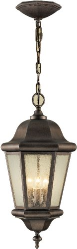 - Feiss OL5911CB Martinsville Outdoor Lighting Pendant Lantern, Bronze, 3-Light (10