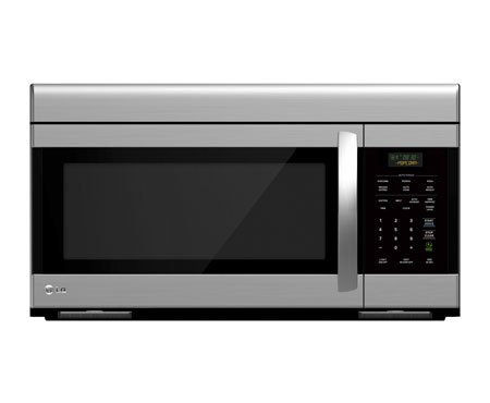 LG LMV1683ST Over-The-Range Microwave Oven with 300 CFM Venting System, 1.6 Cubic Feet by LG