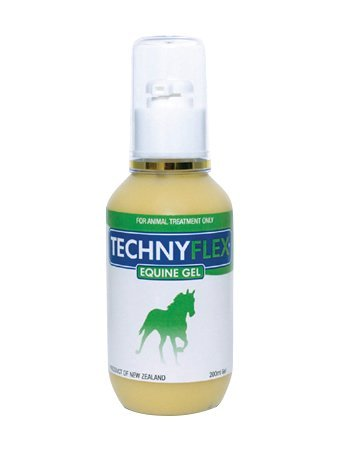 Technyflex Equine Gel 200ml Omega-Rich Anti-Inflammatory Greenlipped Mussel Fast-Acting Pain Relief Liniment Joint, Tendon, Muscle Pain, Stiffness To Improve Mobility And Maintain Optimum Flexibility