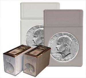 - BCW Silver Dollar Coin Display Slab Foam Inserts - No Slabs (Display Box of 25) Coin Collecting Archival Storage Supplies, White