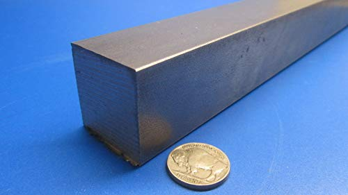 1.375 Thickness x 1.375 Width x 1 Ft Length 4140 Alloy Steel Flat Bar Stock 1 Pc.