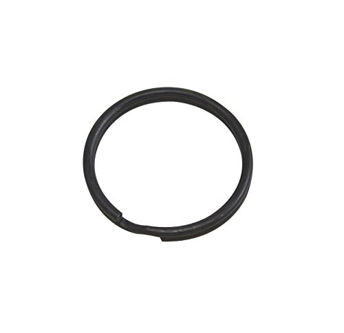 - Wuuycoky 30mm Outer Diameter Metal Black Key Rings Curved Surface Split Ring Pack of 100