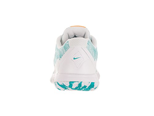 Shoe Prem White Orng Women's Experience 4 Flex Nike Rn Running Gamma Blue Lsr White Xw0qn6f