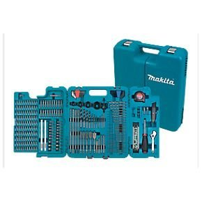 MAKITA 252 PIECE ACCESSORY KIT IN BLOW MOULDED CASE SCREWDRIVER, DRILLBITS GREAT FOR BUILDERS,TRADE,DIY by Makita (Image #7)