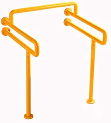 HJXSXHZ366 Ältere Patienten Hilfshandlauf Badezimmer Geländer sicher und bequem for ältere Menschen Griff Badezimmer (Color : Yellow)