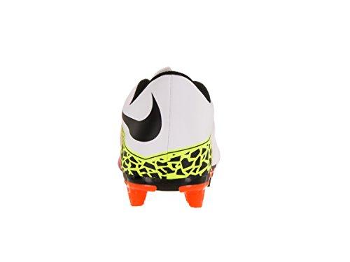 da Calcio Scarpe FG Blanco II Nike Blanco Uomo total Orange Black White Bianco volt Hypervenom Phade wCxUp