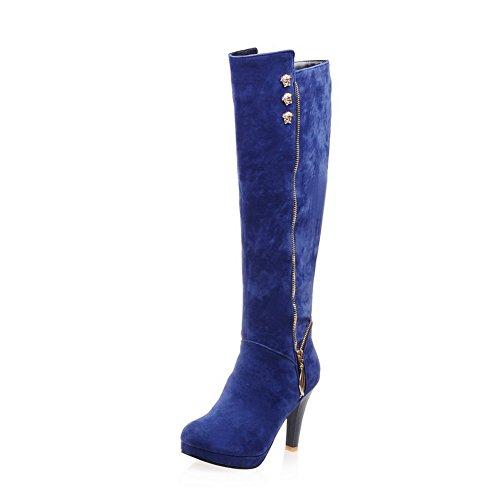 1TO9Mns02069 - A Collo Alto Donna, Blu (Blue), 35