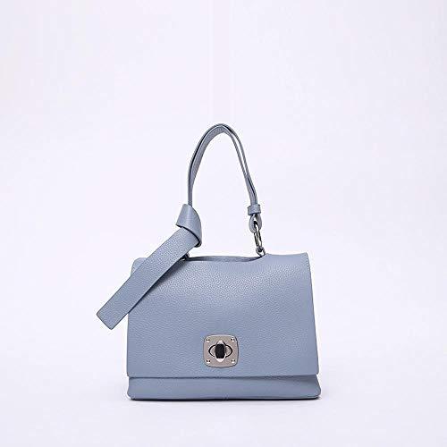 Cowhide B Female Handbag Leather Tote Baotou Bag Female Diagonal Hongge Layer Shoulder Leather Female Fashionable Single Handbag qwfHaFOv