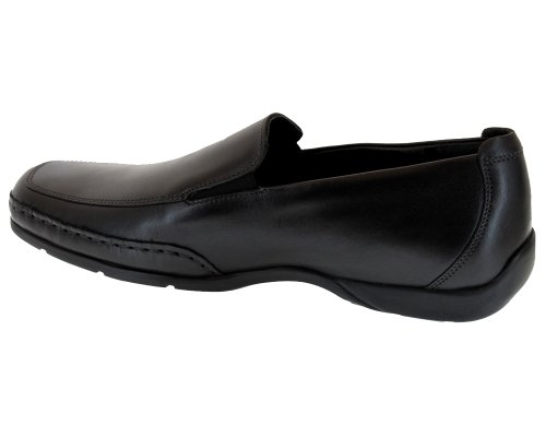 Mephisto-Chaussure Mocassin-EDLEF Noir cuir 8800-Homme