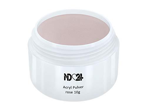 Acryl Pulver rose 10g - nd24 BESTSELLER - Feinstes Acryl-Puder Acryl-Pulver Acryl-Powder - STUDIO QUALITÄT