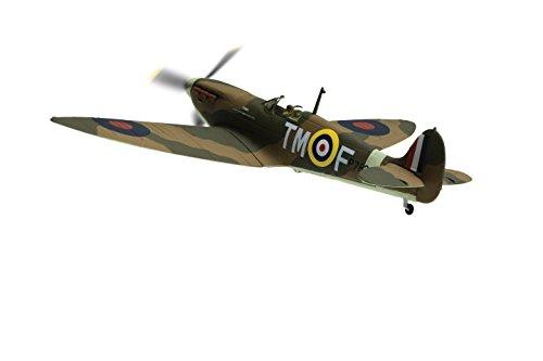Supermarine Spitfire MKIIa P7823 `Down Belfast Telegraph Spitfire Fund` Diecast Model Airplane