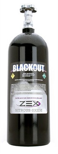 COMP Cams 82340B Nitrous Bottle (Zex 10Lb W/Valve ''Black'')