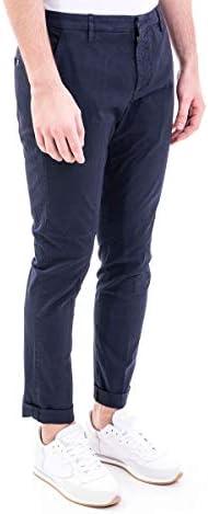 DONDUP Luxury Fashion Homme UP235GSE046PTD897 Bleu Coton Pantalon | Printemps-été 20