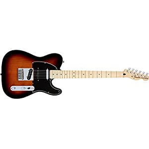 Fender 0147502303 Deluxe Nashville Telecaster Maple Fingerboard 2-Color Sunburst Electric Guitar