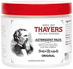 Thayers Astringent Pads