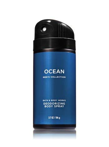Bath & Body Works Ocean 3.7 Ounce Men's Deodorizing Body Spray by Bath & Body Works