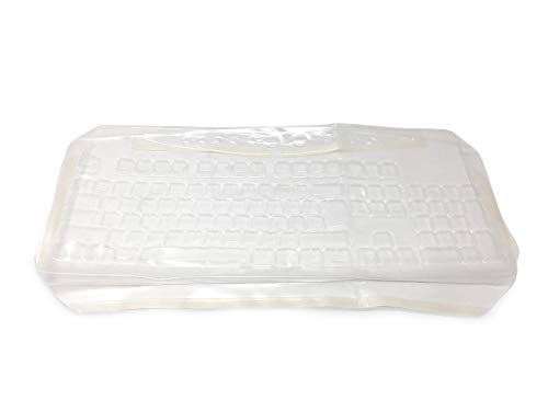 M140 Keyboard - Viziflex Anti-Microbial Keyboard Cover Compatible with Dell M140 - Part 121G90 -