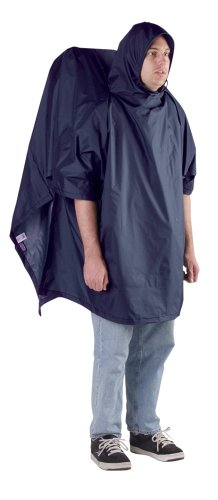 Regular Backpacker Poncho - 56 X 94; Navy
