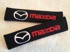 Mazda Seat Belt Cover Shoulder Pads Mazda2 Mazda3 Mazda5 Mazda6 RX8 (Pads Shoulder Harness)