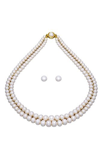 pearls necklace carolee m listing real pearl poshmark