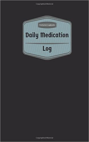 daily medication log logbook journal 96 pages 5 x 8 inches