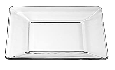 Libbey 1797299 Tempo Dessert/Salad Plate (Set of 12), Clear