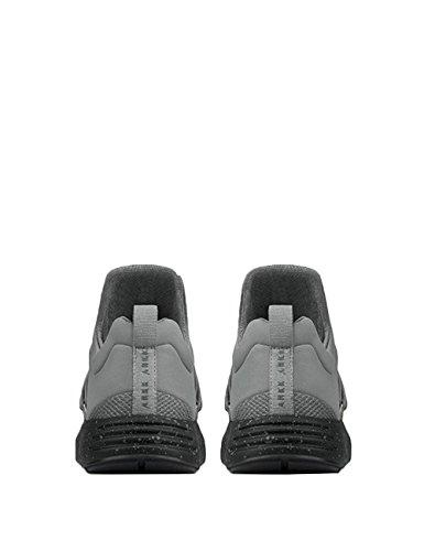Arkk Copenhagen Damen Sneaker Grau Grau Grigio Spray Nero