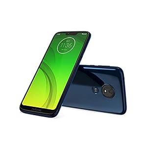 "31WDlgrWZ0L. SS300  - Motorola Moto G7 Power (64GB, 4GB RAM) Dual SIM 6.2"" 4G LTE (GSM Only) Factory Unlocked Smartphone International Model XT1955-2 (Marine Blue)"