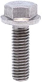 BelMetric M5X25 Stainless Steel A2 Metric Hex Flange Bolt DIN 6921 by BF5X25SS 25pcs