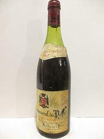 châteauneuf du pape ogier tête de cuvée rouge 1967 - rhône