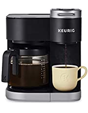 Keurig K-Duo Single Serve K-Cup Pod And Carafe Coffee Maker, With Programmable Features And Strong Brew Function, Black