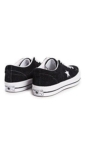 Converse One Star OX Herren Sneaker Schwarz Schwarz