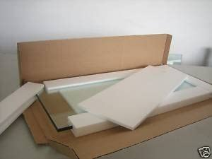 12 x 30 x 3 8 tempered glass