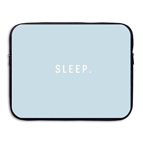 CHERINA RHEA Computer Bag Laptop Case Slim Sleeve Bag Blue Sleep Word Design Waterproof 13-15 Inch For IPad Air Macbook Pro Surface Book Notebook Ultrabook (Word Air)