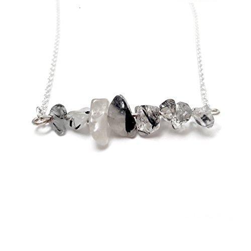 quartz-chip-bar-silver-plated-necklace-tourmalated