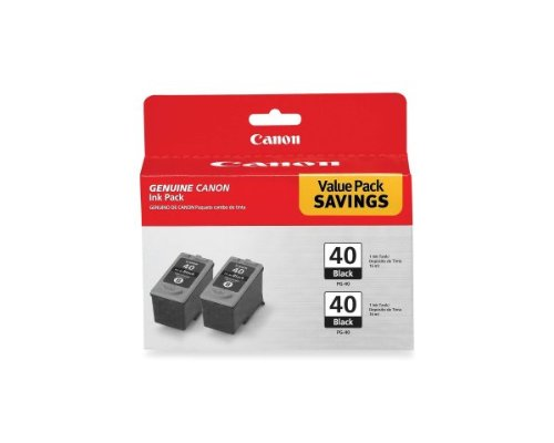 Canon PIXMA MX310 Black Ink Cartridge Twin Pack (OEM) 615 Pages Ea.