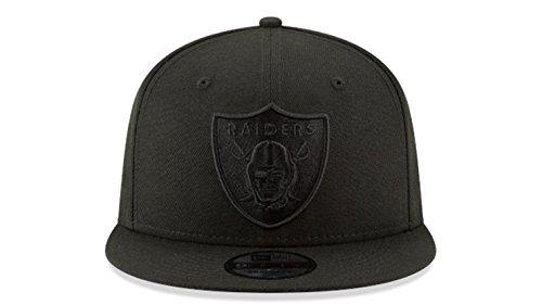 Amazon.com   Oakland Raiders New Era Snapback Cap Hat Black on Black    Sports   Outdoors 564ad253d0d