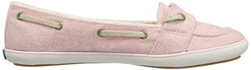 Keds Womens Teacup Boat Wool Shearling Fashion Sneaker Strawberry Pink RDyH4x1o