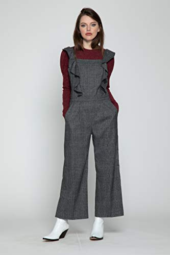 447369490670 Amazon.com  Walter Baker Women s Tartan Jumpsuit  Clothing