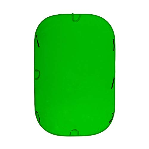 Lastolite LL LC6981 6 x 9 Feet Chromakey Collapsible Background (Green)